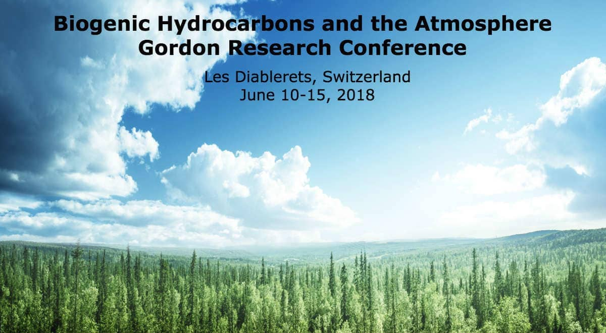 Biogenic Hydrocarbons in the Atmosphere Gordon Research Conference