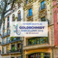 Goldschmidt 2019 Barcelona, Spain
