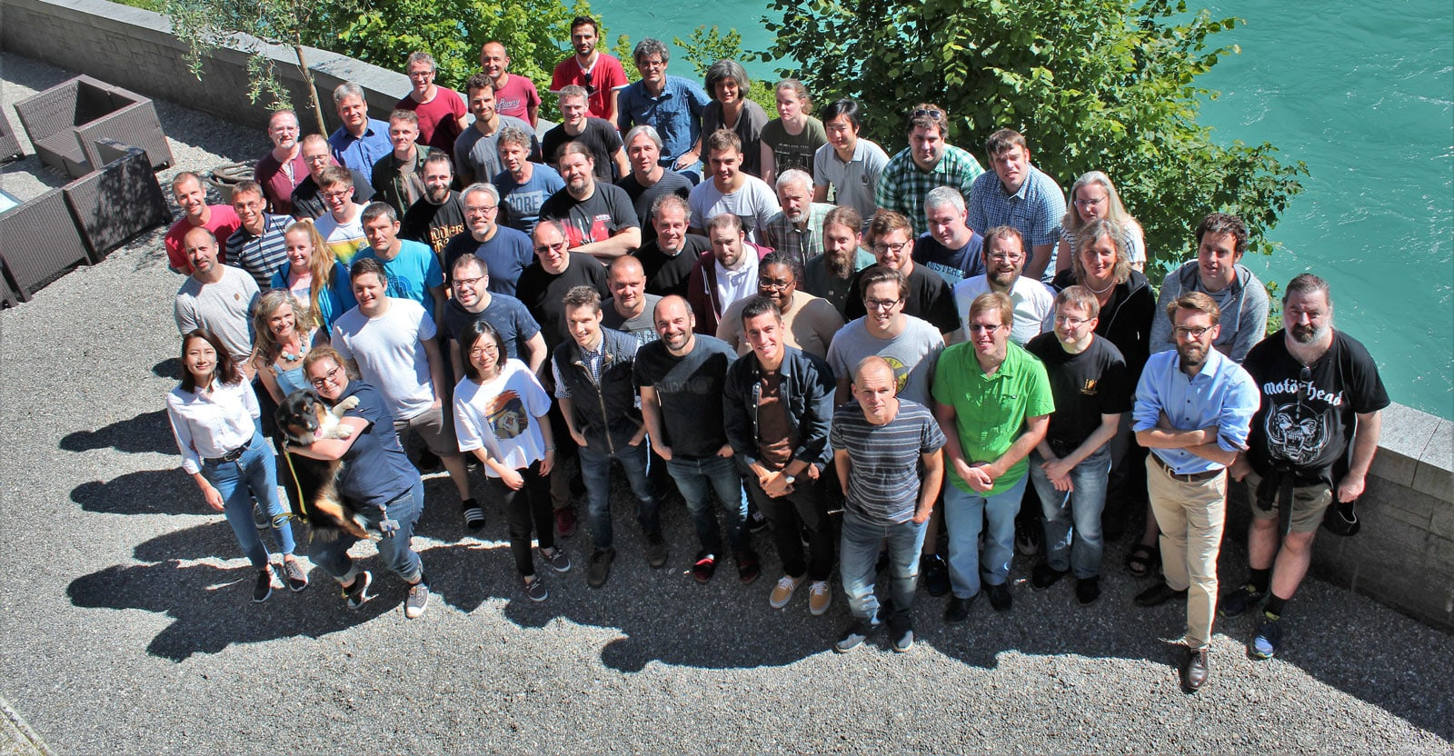 Group photo of Tofwerk employees
