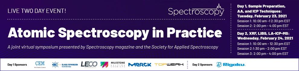 Spectroscopy ICP-MS esymposium