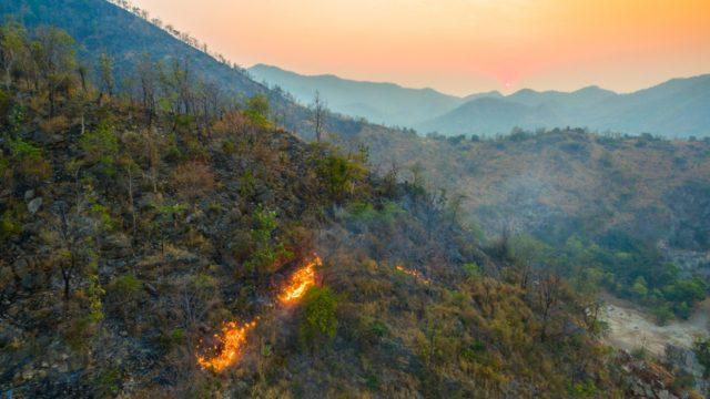 biomass-burning aerosol