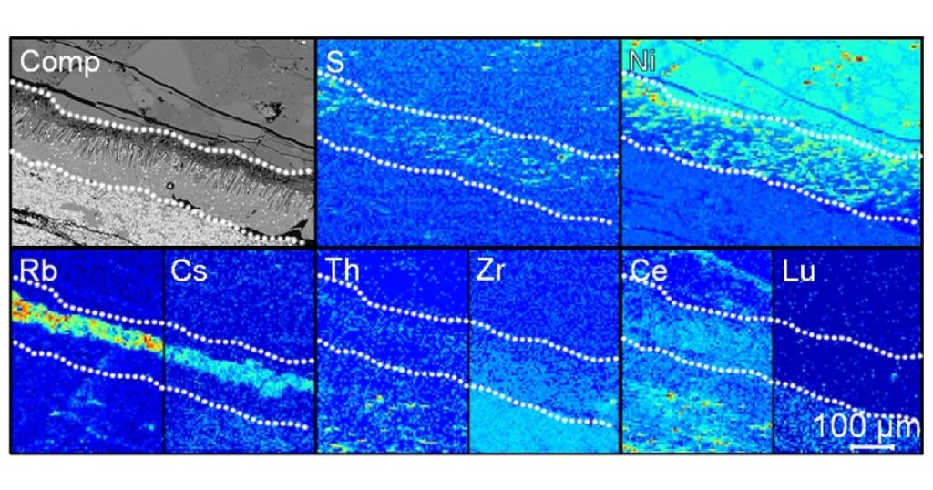 icpTOF Multi-Elemental Imaging Characterizes Trace Elements in Subduction Zone Studies